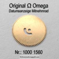 Omega Datumanzeiger Mitnehmrad Part Nr. Omega 1000 1560 Cal. 1000 1001 1002