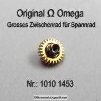 Omega 1010-1453, Omega Grosses Zwischenrad für Sperrad 1010 1453 Cal. 1010 1011 1012 1020 1021 1022