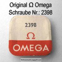 Omega Schraube für Räderwerkbrücke, Omega 2398
