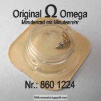 Omega Minutenrad mit Minutenrohr 860-1224 Omega 860 1224 H0 Cal.  860 865