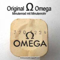 Omega Minutenrad mit Minutenrohr, NOS 5,36 mm Part Nr. Omega 320-1224 Cal.  320 (27 CHRONO 17 Steine)