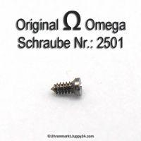 Zifferblattschraube Omega Schraube 2501 Part Nr. Omega 2501