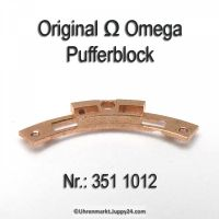 Omega Pufferblock Part Nr. Omega 351-1012 Cal. 351 352 353 354 355