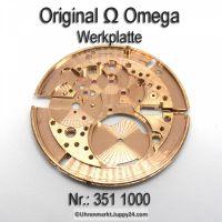 Omega Werkplatte für Hammerautomatik Omega Werkplatine Hammerautomatik Par Nr. Omega 351-1000 Cal. 351 352 354