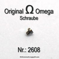 Omega 2608 Schraube für Friktionsfeder, Part Nr. Omega 2608