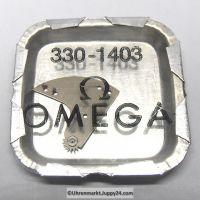 OmegaSchwingmassen- Träger montiert Part Nr. Omega 330-1403 Cal. 330 331 340 341 350