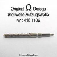 Omega Aufzugswelle Stellwelle Part Nr. Omega 410-1106 Cal. 410 420
