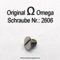 Omega Schraube 2606 Part Nr. Omega 2606