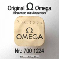 Omega Minutenrad mit Minutenrohr Höhe 2,58mm Part Nr. Omega 700-1224 Cal. 700