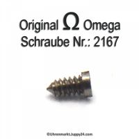 Omega Zifferblattschraube 2167 Part Nr. Omega 2167