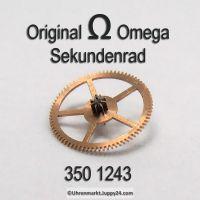 Omega Sekundenrad 350-1243 Omega 350 1243 Cal. 350 351 352 353 354 355