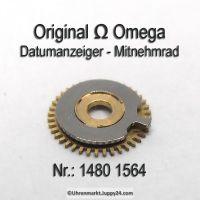 Omega Datumanzeiger Mitnehmrad Part Nr. Omega1480-1564 Cal. 1480 1481
