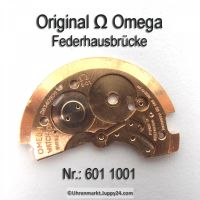 Omega Federhausbrücke SIGNIERT, Part Nr. Omega 601-1001 Cal. 601