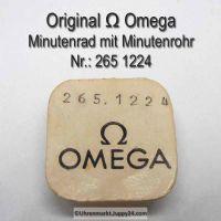 Omega Minutenrad mit Minutenrohr, NOS 5,61mm Part Nr. Omega 265-1224 Cal.  265, 266, 267 30T3
