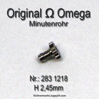 Omega Minutenrohr 283-1218, Omega 283-1218, Höhe 2,45 mm Cal. 283