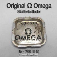 Omega Stellhebelfeder Omega 700-1110 Omega Winkelhebelfeder Cal. 700