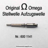 OMEGA Aufzugswelle für zweiteilige Welle männlich Omega  600-1141 Omega 600-1149 Cal. 600 601 602 610 611