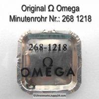 Omega 268-1218 Minutenrohr Omega Viertelrohr 268 1218 Höhe 2,55 mm Cal. 260 268 269