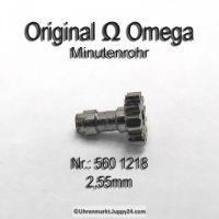 Omega Minutenrohr 560-1218 Omega 560-1218 H2 Höhe 2,55 mm Cal. 550 551 552 560 561 561