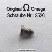 Omega Zifferblattschraube 2526 Part Nr. Omega 2526