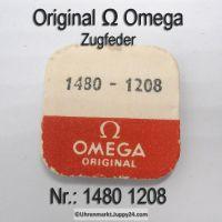 Omega Zugfeder NEU Part Nr. Omega 1480-1208 Cal. 1480 1481
