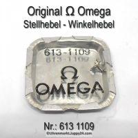 Omega Stellhebel NEU – Omega Winkelhebel Part Nr. Omega 613-1109 Cal. 613