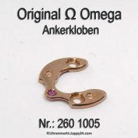 Omega Ankerklolben Part Nr. Omega 330-1005 Cal. 260 261 265 266 267 268 280 284 285
