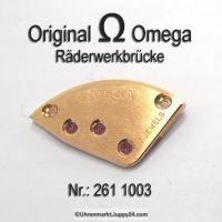 Omega Räderwerkbrücke Part Nr. Omega 261-1003 Cal. 261 266 267 268 269