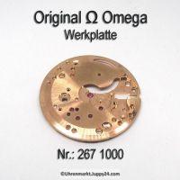 Omega Werkplatte, Omega Werkplatine Par Nr. Omega 267-1000 Cal. 267 268