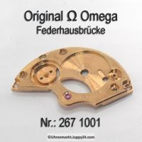 Omega Federhausbrücke Part Nr. Omega 267-1001 Cal. 267