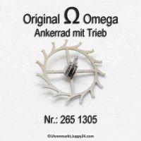 Omega Ankerrad mit Trieb für Hammerautomatik Part Nr. Omega 265-1305 Cal. 265 266 267 268 269 283 284 285 286