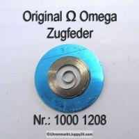 Omega Zugfeder NEU Part Nr. Omega 1000 1208 Cal. 1000 1001 1002