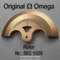 Omega Rotor Part Nr. Omega 563 1026 Cal. 550 551 552 560 561 562 563 564 565 750 751 752