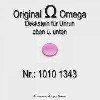 Omega Deckstein für oben und unten Part Nr. Omega 1010 1343 Cal. 1010 1011 1012 1020 1021 1022 1030 1035