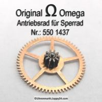 Omega 550-1437, Omega Antriebsrad für Sperrad, Omega 550 1437 Cal. 550 551 552 560 561 562 563 564 565 750 751 752