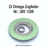Omega Zugfeder 265-1208 Omega Aufzugsfeder 265 1208 Cal. 265 266 267 283 284