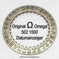 Omega 502-1500, Omega Datumanzeiger gewölbt 502 1500 Cal. 502 503 504 (02)