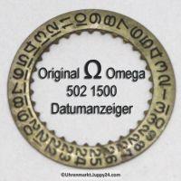 Omega 502-1500, Omega Datumanzeiger gewölbt 502 1500 Cal. 502 503 504 (03)