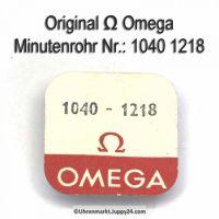 Omega 1040-1218 Minutenrohr, Ho, mit Mitnehmer für Minutenzähler Omega 1040 1218 Cal. 1040 1041