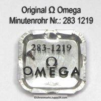 Omega Minutenrohr 283-1219 Omega 283 1219 H1 Höhe 3,05 mm Cal. 283 285 286