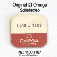 Omega Schiebetrieb 1100-1107, Omega 1100 1107 Cal. 1100