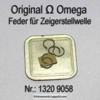 Omega Feder für Zeigerstellwelle 1320-9058, Omega 1320 9058 Cal. 1320