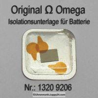 Omega Isolationsunterlage für Batterie 1320.9206, Omega 1320 9206 Cal. 1320 1325
