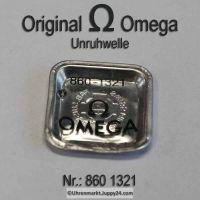 Omega 860-1321 Unruhwelle, Omega 860 1321 Cal. 860 861 863 865 866 910 911 920 930 980