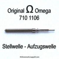 Omega Aufzugswelle Stellwelle Omega 710-1106 Cal. 710 711 712 715