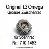 Omega 710-1453, Omega Grosses Zwischenrad für Spannrad  710 1453 Cal. 710 711 712 715
