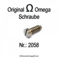 Omega Schraube 2058 Omega Part Nr. Omega 2058