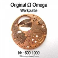 Omega Werkplatte Werkplatine Par Nr. Omega 600-1000 Cal. 600