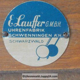 """Schrankuhr Kaminuhr Tischuhr mit 4/4-Westminsterschlag """"Lauffer"""""""