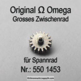 Omega 550 1453 Omega Grosses Zwischenrad für Sperrad Cal. 550 551 552 560 561 562 563 564 565 750 751